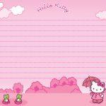 Hello Kitty Printable Stationary | Scrapbook | Hello Kitty, Hello   Free Printable Hello Kitty Stationery