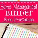 Home Management Binder   Free Printables | The Gracious Wife   Free Home Organization Binder Printables