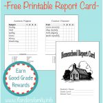 Home School Report Cards   Flanders Family Homelife   Free Printable Preschool Report Cards