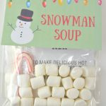 Homemade Holiday Gift Idea: Snowman Soup With Free Printable   About   Snowman Soup Free Printable