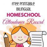 Homeschool Attendance Record [Free Printable] | Paradise Praises   Homeschooling Paradise Free Printable Math Worksheets Third Grade