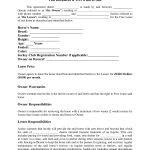 Horse Template Printable | Free Basic Lease Agreement | Country   Free Printable Basic Will