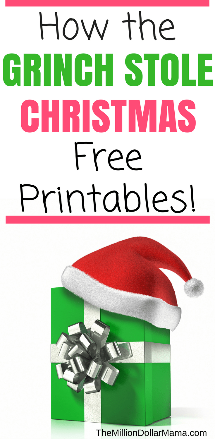 How The Grinch Stole Christmas Free Printables! | Crafts | Grinch - Free Grinch Printables