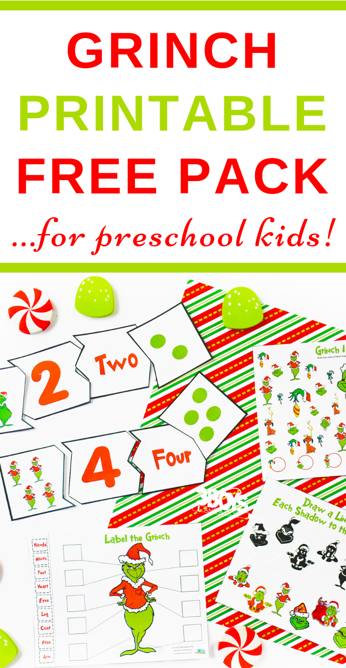 How The Grinch Stole Christmas Printables | Free Homeschool - Free Grinch Printables