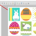 How To Convert And Edit Free Printable Easter Pdf Templates   Free Printable Easter Card Inserts