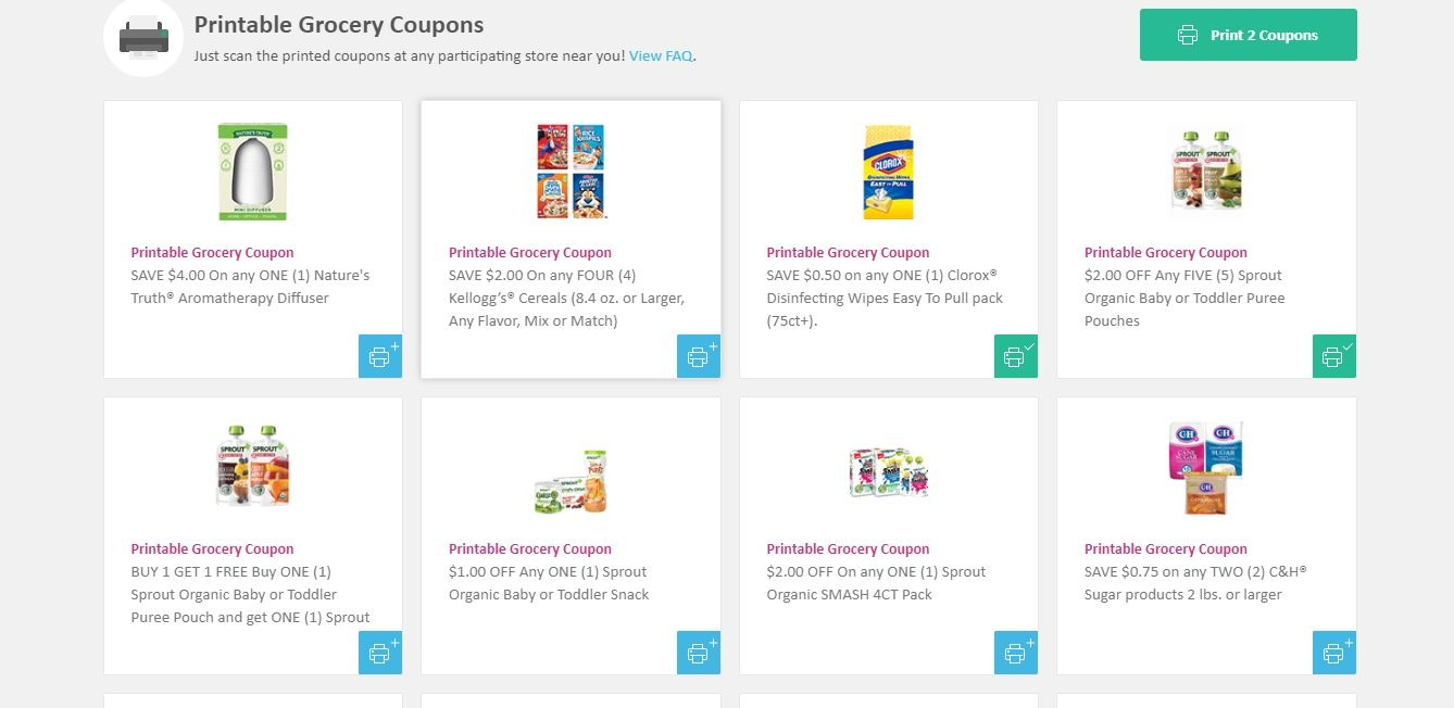How To Find Walmart Grocery Coupons Online | One Day Richer - Free Printable Walmart Coupons