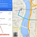 How To Get Driving Directions And More From Google Maps   Free Printable Driving Directions