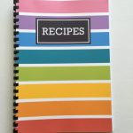 How To Make A Diy Recipe Book (Plus Free Printables)   All About   Create Your Own Free Printable Cookbook