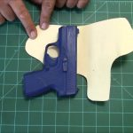 How To Make A Holster Pattern..   Youtube   Free Printable Holster Patterns