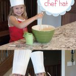 How To Make A Paper Chef Hat | Diy Paper Crafts | Paper Chef Hats   Free Printable Chef Hat Pattern