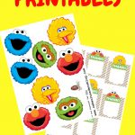 How To Make Sesame Street Party Favour Box Decorations | Sesame   Free Sesame Street Printables