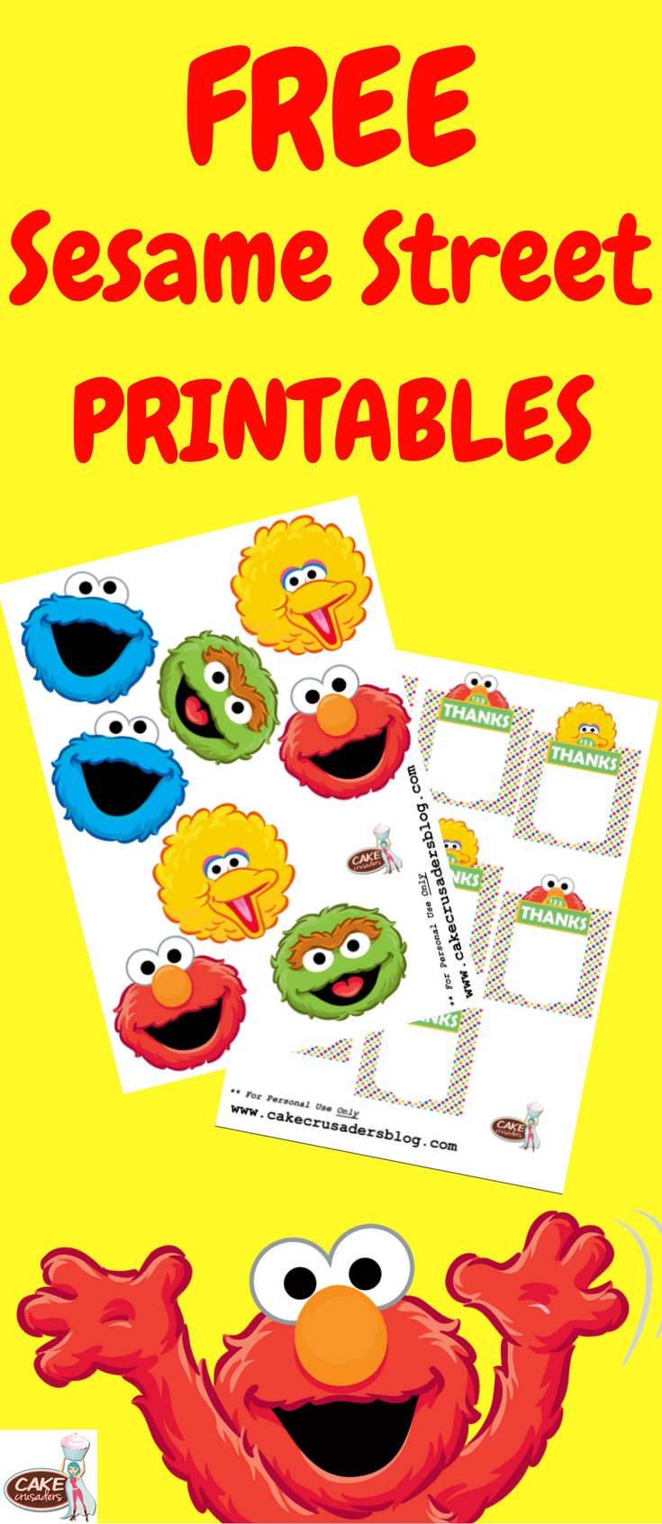 How To Make Sesame Street Party Favour Box Decorations | Sesame - Free Sesame Street Printables