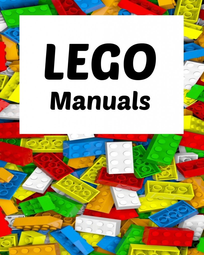 How To Organize Lego Manuals (+ Free Lego Printables!) | Blogger - Free Lego Printables
