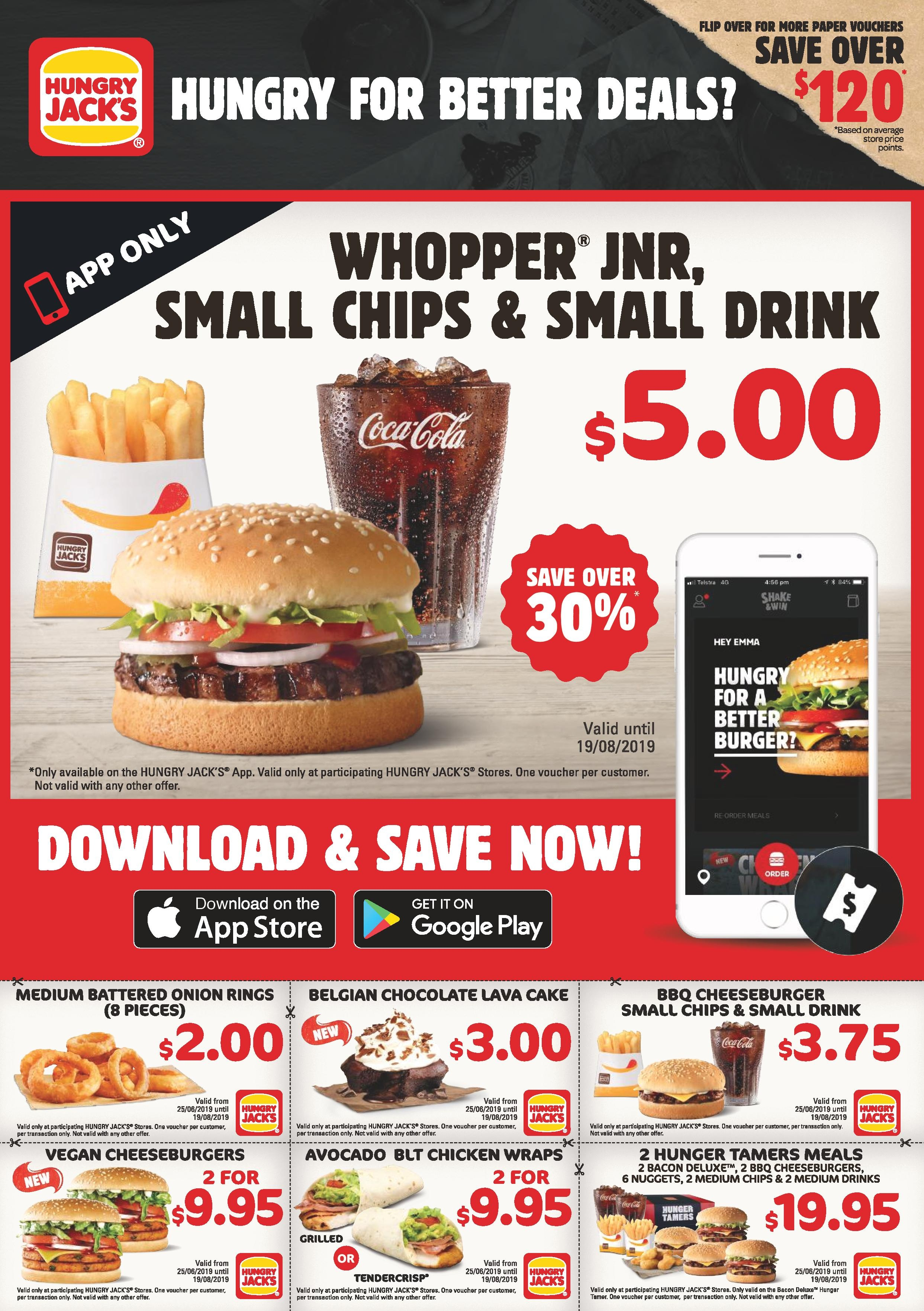 Hungry Jacks Vouchers / Coupons (June 2019) | Frugal Feeds - Free Online Printable Fast Food Coupons