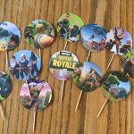 I Made These Fortnite Cupcake Toppers For My Son's 13Th Birthday And   Free Printable Fortnite Cupcake Toppers