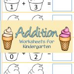 Ice Cream Addition Worksheets For Kindergarten | Summer Camp Ideas   Free Printable Ice Cream Worksheets