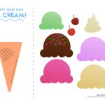 Ice Cream Templates And Coloring Pages For An Ice Cream Party   Free Printable Ice Cream Worksheets