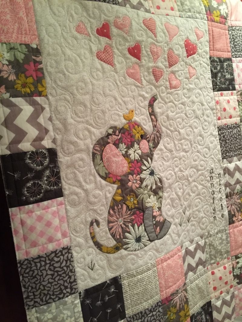 Image Result For Elephant Baby Quilt Patterns Free Printable - Quilt Patterns Free Printable