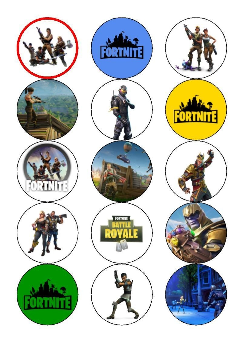 Image Result For Fortnite Printables Free | Fortnite Party | Free - Free Printable Fortnite Cupcake Toppers