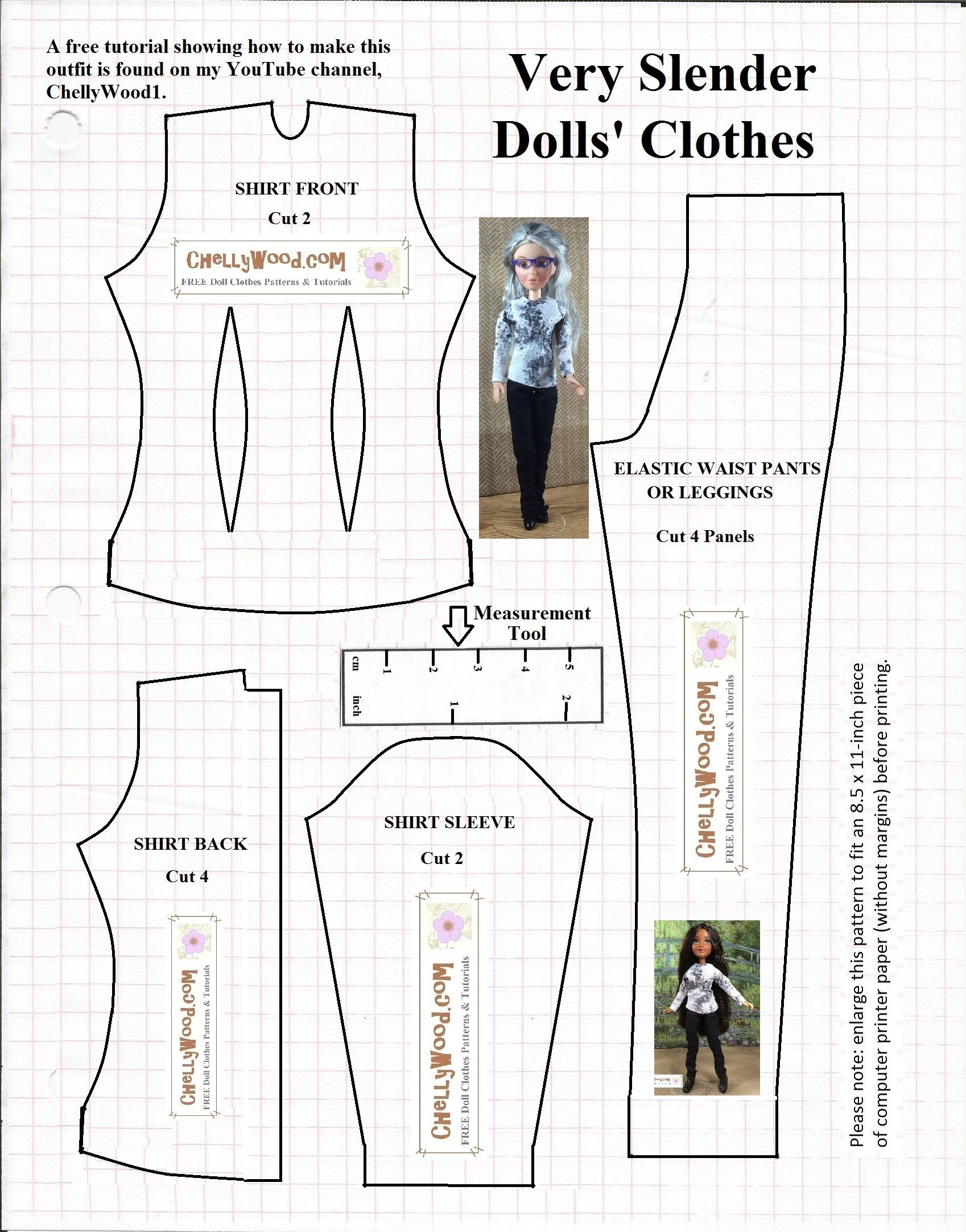 Image Result For Free Printable Ken Doll Clothes Patterns | Barbie - Ken Clothes Patterns Free Printable