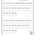Images For Cursive Writing Sentences Worksheetscursive Letters Cover   Free Printable Worksheets Handwriting Practice