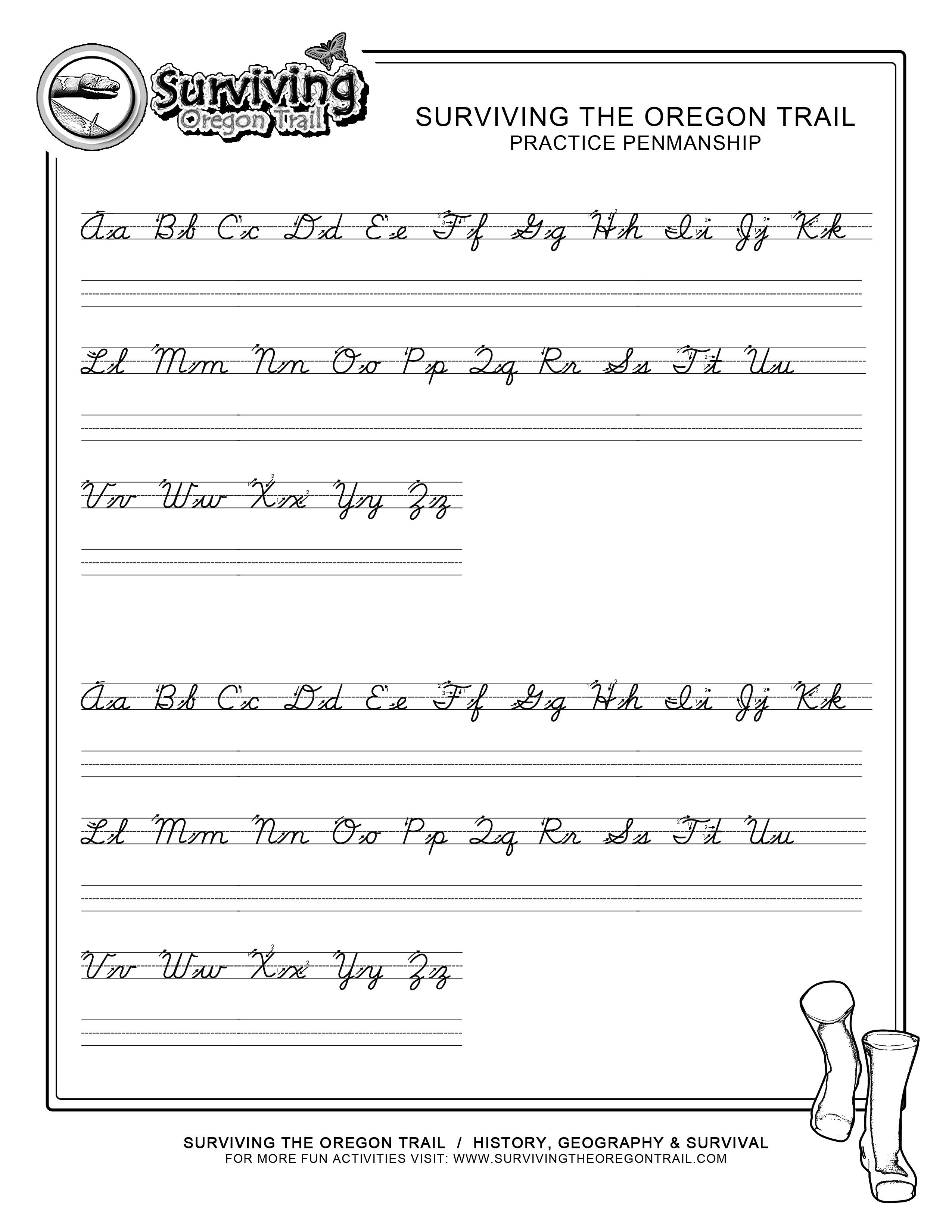 Images For Cursive Writing Sentences Worksheetscursive Letters Cover - Free Printable Worksheets Handwriting Practice