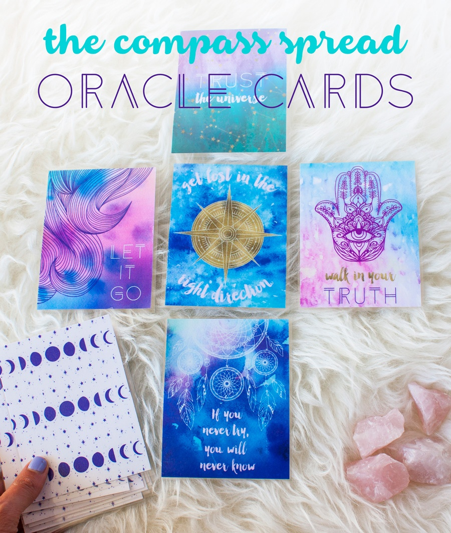 Improve Your Intuition With Oracle Cards // Plus Your Free Deck - Free Printable Oracle Cards Pdf