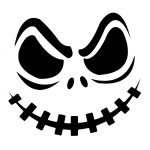 Jack Skellington Pumpkin | Cricut Cutter Ideas | Halloween Pumpkin   Jack Skellington And Sally Pumpkin Stencils Free Printable