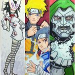 Japanese Anime And Comics Bookmarks | Free Printable Papercraft   Anime Bookmarks Printable For Free