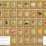 J'apprends Le Lenormand | Adult Color, Free Printables & Collage   Free Printable Lenormand Cards