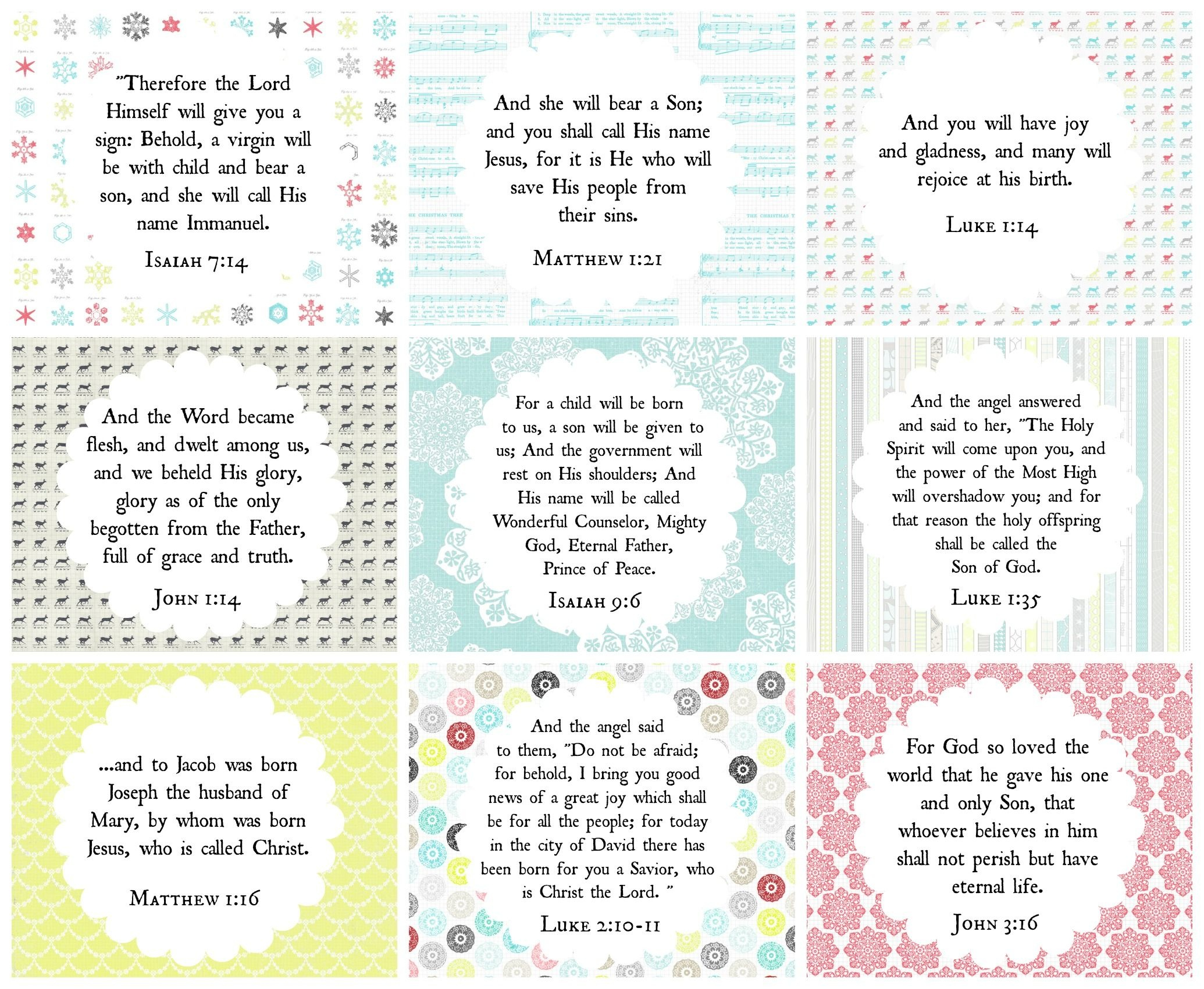 Jesus Is The Reason. He Is Our Gift <3 Another Set Of Free Christmas - Free Online Printable Bible Studies