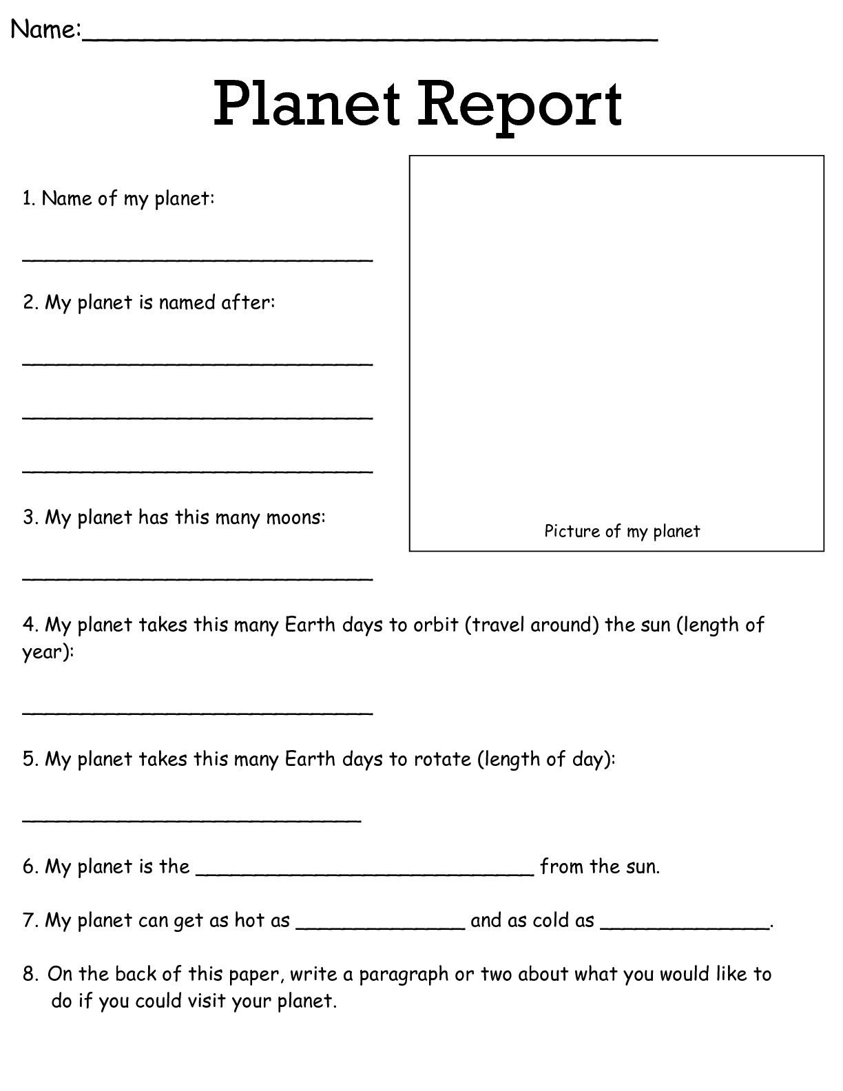 Job Worksheets 5Th &6Th | Science Worksheets Science Worksheets - Free Printable Science Worksheets For 2Nd Grade