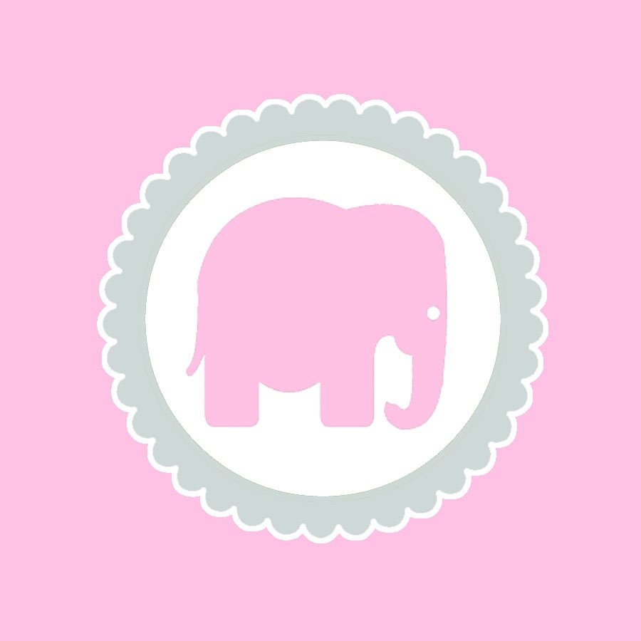 Juneberry Lane: Strawberry Cupcakes & A Free Pink Elephant Printable - Free Pink Elephant Baby Shower Printables
