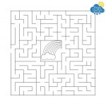 Kids Weather Free Printables   Rainy Day Box   Free Printable Mazes For Kids