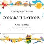 Kindergarten Graduation Certificate | Free Printable Kindergarten   Preschool Graduation Diploma Free Printable