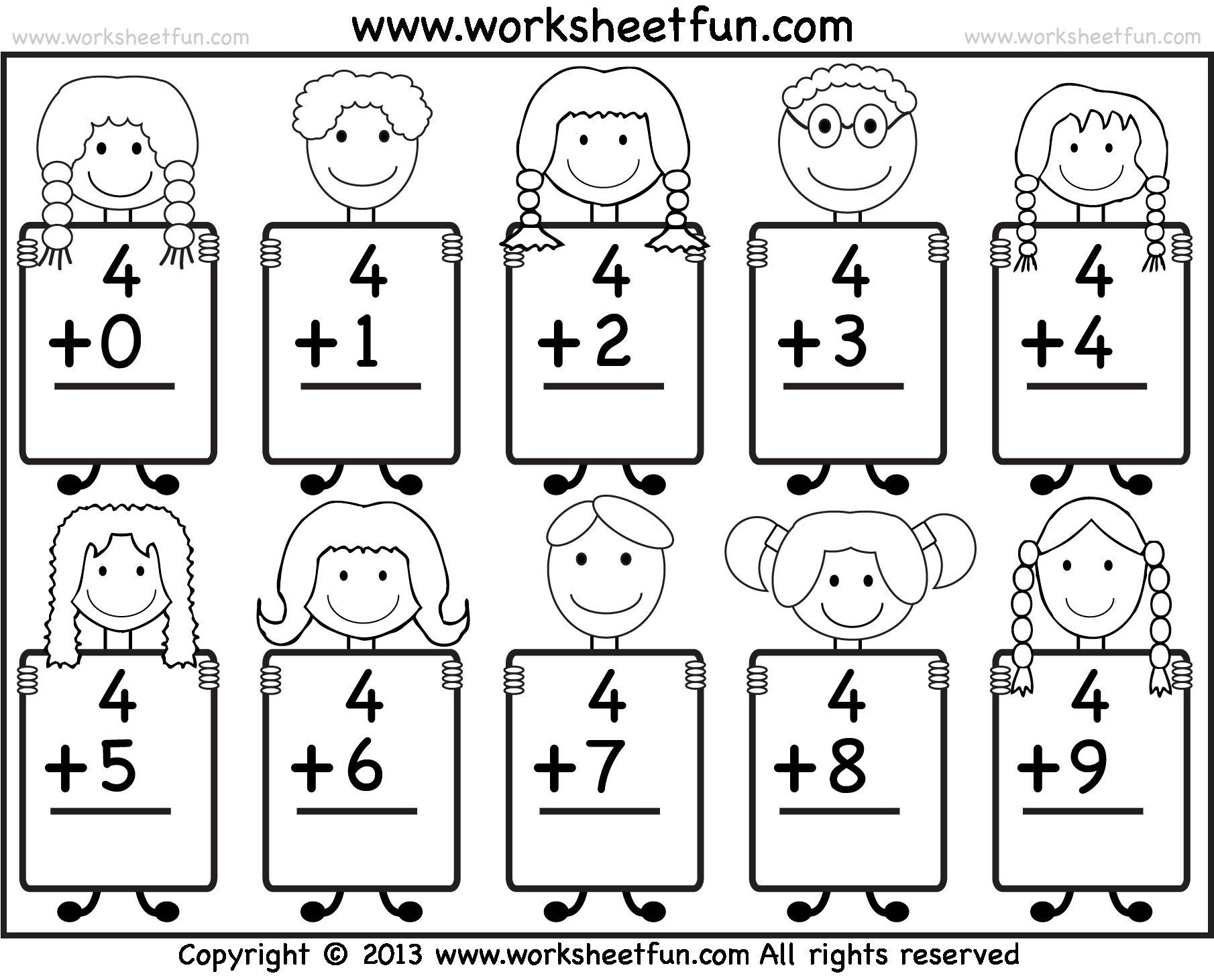 Kindergarten Math Png Black And White Transparent Kindergarten Math - Free Printable Kinder Math Worksheets