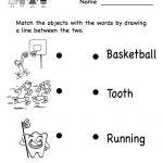 Kindergarten Reading Worksheet For Kids Printable | Worksheets   Free Printable English Reading Worksheets For Kindergarten