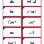 Kindergarten Sight Word Flash Cards   Free Printable   A Pretty   Free Printable Kindergarten Sight Words