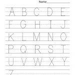 Kindergarten Worksheets Pdf Free Download Handwriting | Learning   Free Printable Letter Writing Worksheets