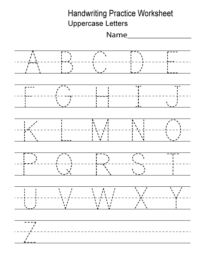 Kindergarten Worksheets Pdf Free Download Handwriting | Learning - Free Printable Letter Writing Worksheets