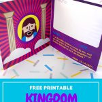 Kingdom Passport Craft | Biblecraftclub | Bible Crafts   Free Printable Bible Crafts For Preschoolers
