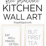 Kitchen Gallery Wall Printables | Free Printable Wall Art   Free Kitchen Printables