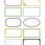 Labels   Free Printable For Diy Crafting. Paper Craft, Organizing   Free Printable Label Templates