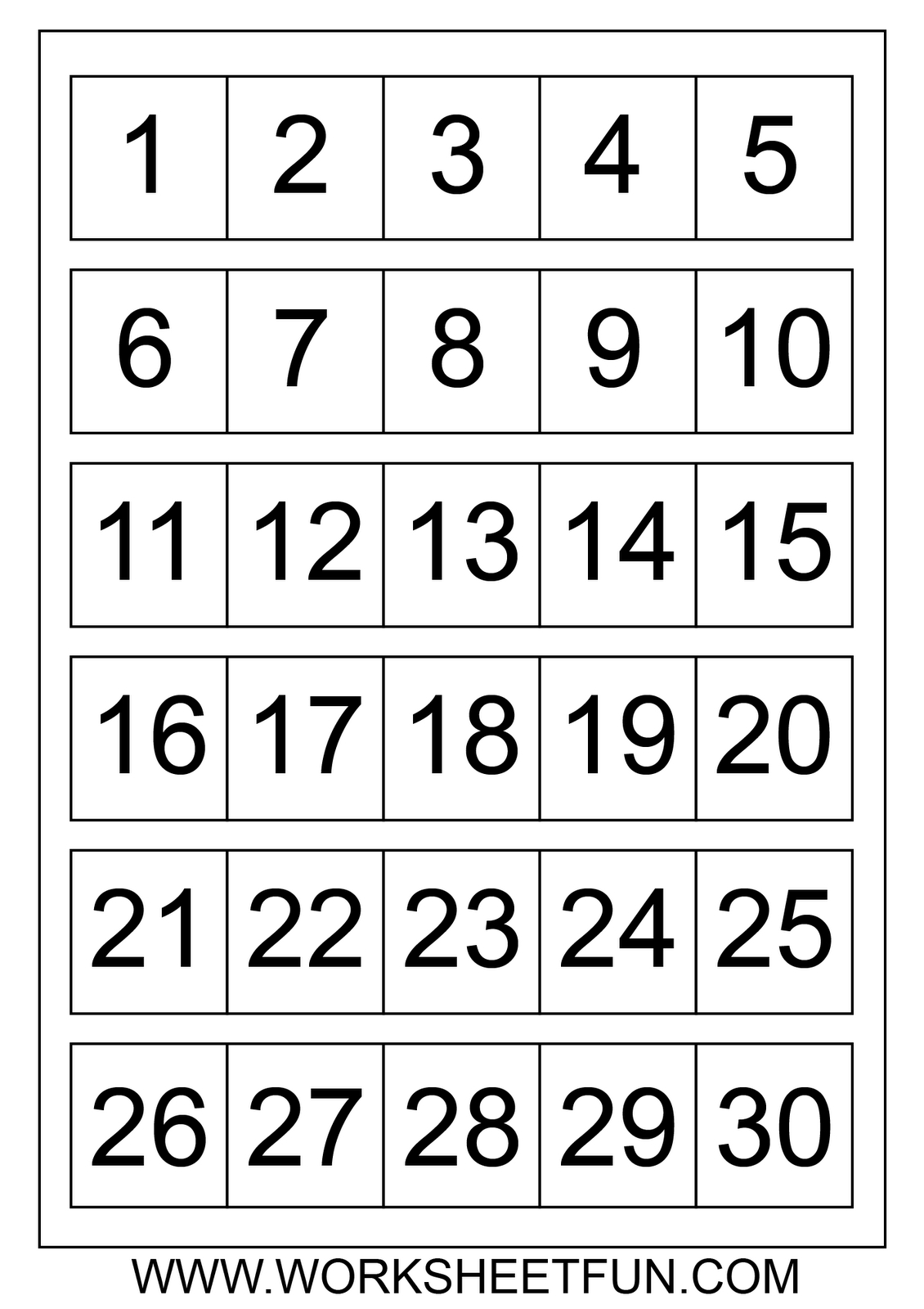 Large Printable Numbers 1 100 | To Dot With Numbers Printable - Free Printable Numbers 1 50