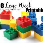 Lego Week Free Printables | Hip Homeschool Moms   Free Lego Printables