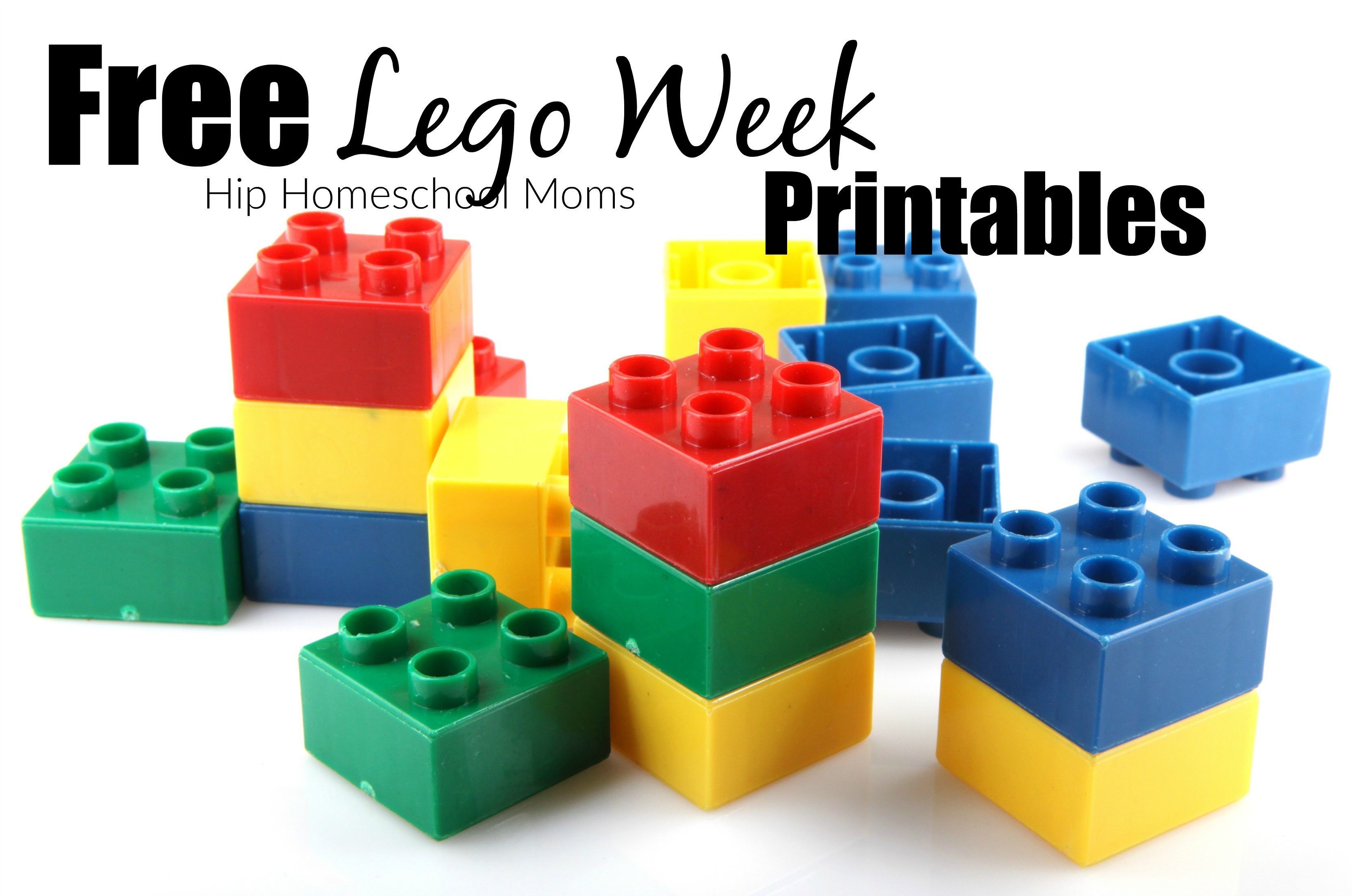 Lego Week Free Printables | Hip Homeschool Moms - Free Lego Printables