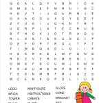 Lego Word Search Free Printable | Батьківство   Create Word Search Free Printable