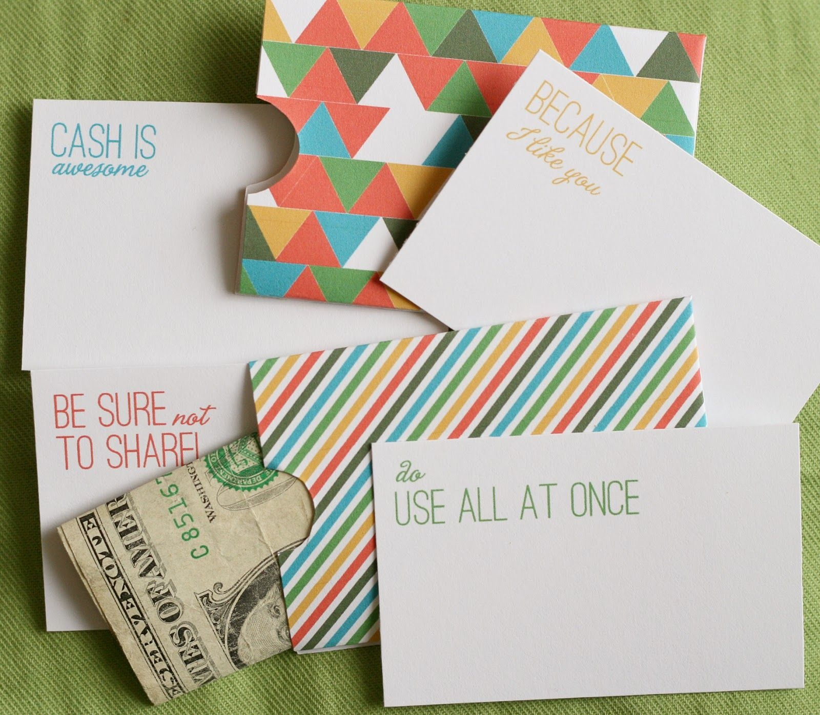 Lemon Squeezy: Day 12: Cash Holder | ~Printables~ ✂ | Free - Free Printable Christmas Money Holder Cards