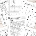 Letter J Worksheets   Alphabet Series   Easy Peasy Learners   Free Printable Letter J