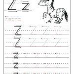 Letter Z Preschool Pinon Decor Tracing Worksheets Printable   Letter Z Worksheets Free Printable